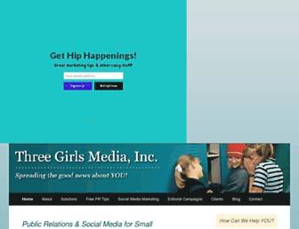 threegirlsmedia.com screenshot