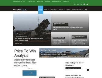 defencetalk.com screenshot