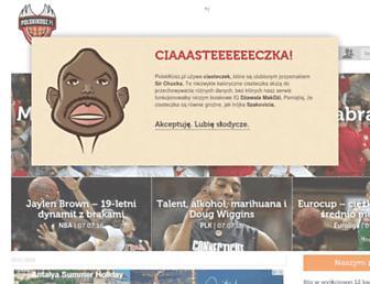 Main page screenshot of polskikosz.pl