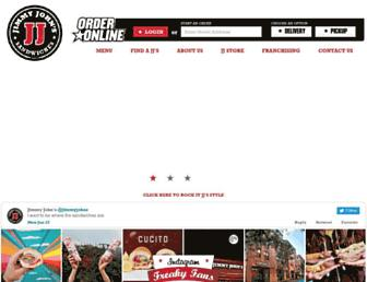 Thumbshot of Jimmyjohns.com