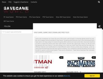 savegameworld.com screenshot