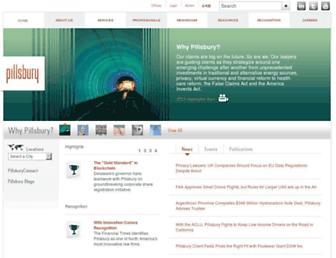 pillsburylaw.com screenshot