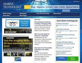 marinetechnologynews.com screenshot