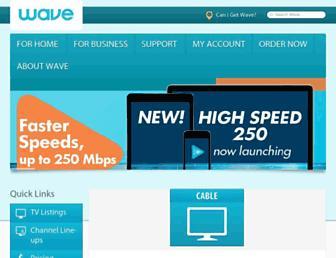 Main page screenshot of astound.net