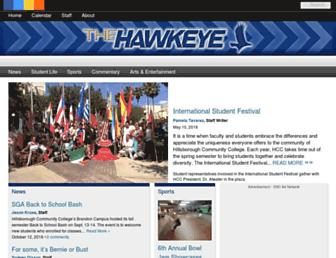 hawkeyenews.net screenshot