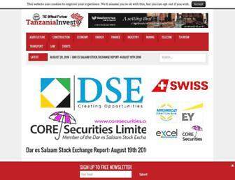tanzaniainvest.com screenshot