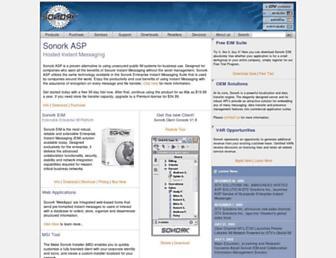 sonork.com screenshot