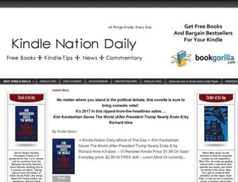 Thumbshot of Kindlenationdaily.com