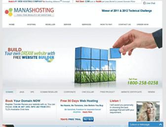 Thumbshot of Manashosting.com
