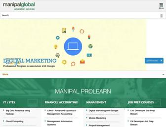 Thumbshot of Manipalglobal.com