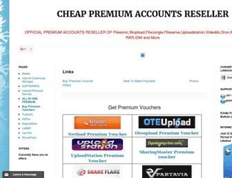 premiumaccounts-seller.blogspot.com screenshot