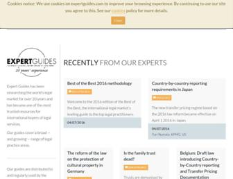 expertguides.com screenshot