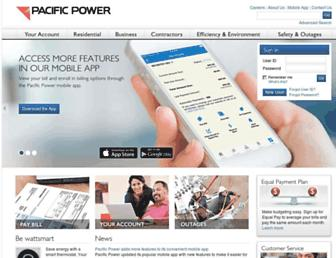 Thumbshot of Pacificpower.net