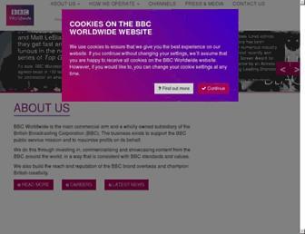 Thumbshot of Bbcworldwide.com