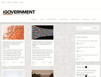 Thumbshot of Igovernment.in