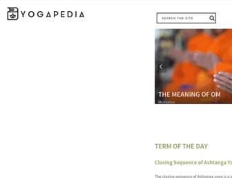 yogapedia.com screenshot