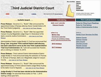the3rdjudicialdistrict.com screenshot