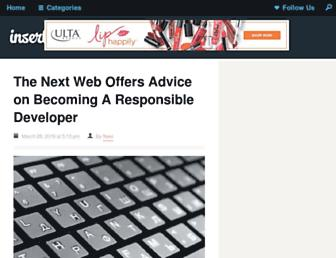 inserthtml.com screenshot