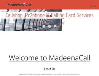 madeenacall.co screenshot