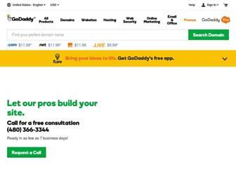 Main page screenshot of kstewartfan.org