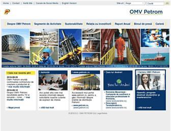 omvpetrom.com screenshot