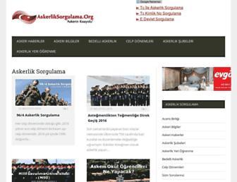 Thumbshot of Askerliksorgulama.org