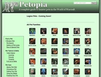 Thumbshot of Wow-petopia.com