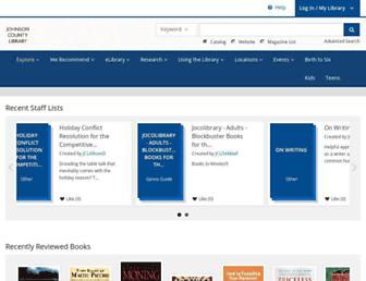 jocolibrary.bibliocommons.com screenshot