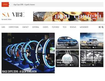 savibeza.co.za screenshot