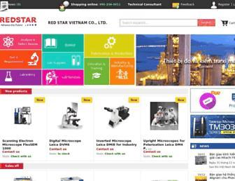 en.redstarvietnam.com screenshot
