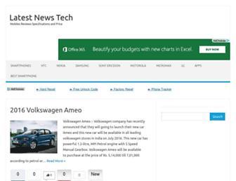 Thumbshot of Latestnewstech.com
