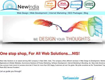 Thumbshot of Newindiasolutions.com