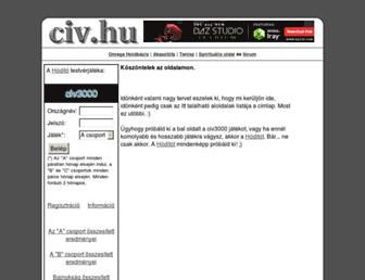 civ.hu screenshot