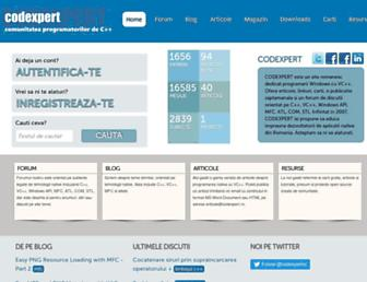 codexpert.ro screenshot