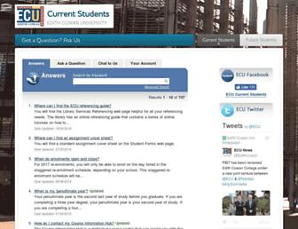 askus.ecu.edu.au screenshot