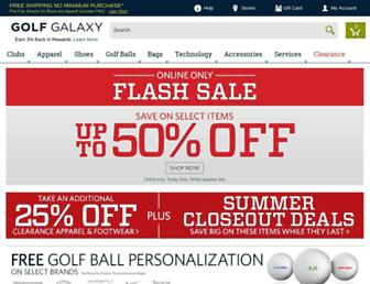 Thumbshot of Golfgalaxy.com