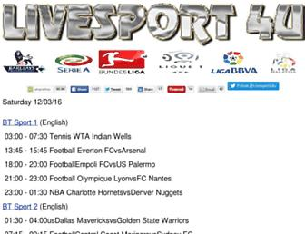Thumbshot of Livesport4u.com