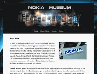nokiamuseum.info screenshot