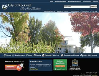 rockwall.com screenshot