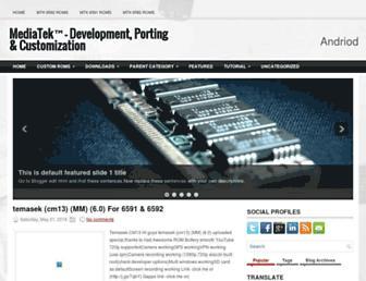 mediatekdevelopment.blogspot.com screenshot