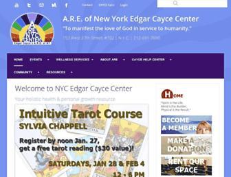 edgarcaycenyc.org screenshot