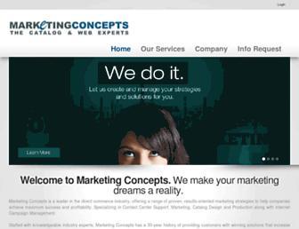 marketingconcepts.com screenshot