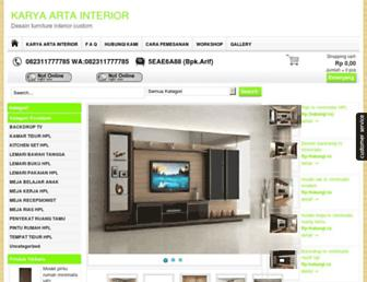 karyaartainterior.com screenshot