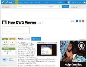 free-dwg-viewer.en.softonic.com screenshot