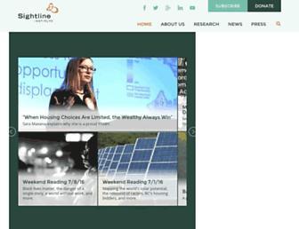 sightline.org screenshot