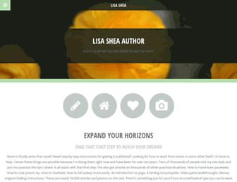 lisashea.com screenshot