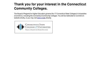 Main page screenshot of commnet.edu