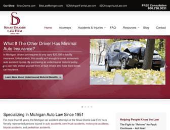 autonofaultlaw.com screenshot