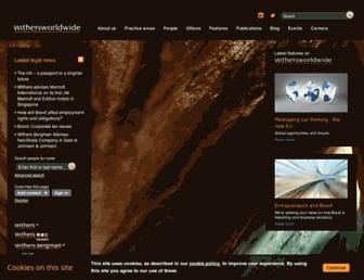 withersworldwide.com screenshot