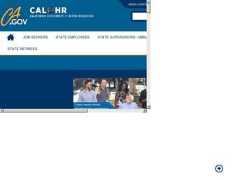 calhr.ca.gov screenshot